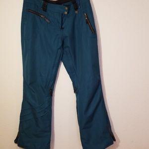 Obermeyer Blue Ski Pants SZ 6
